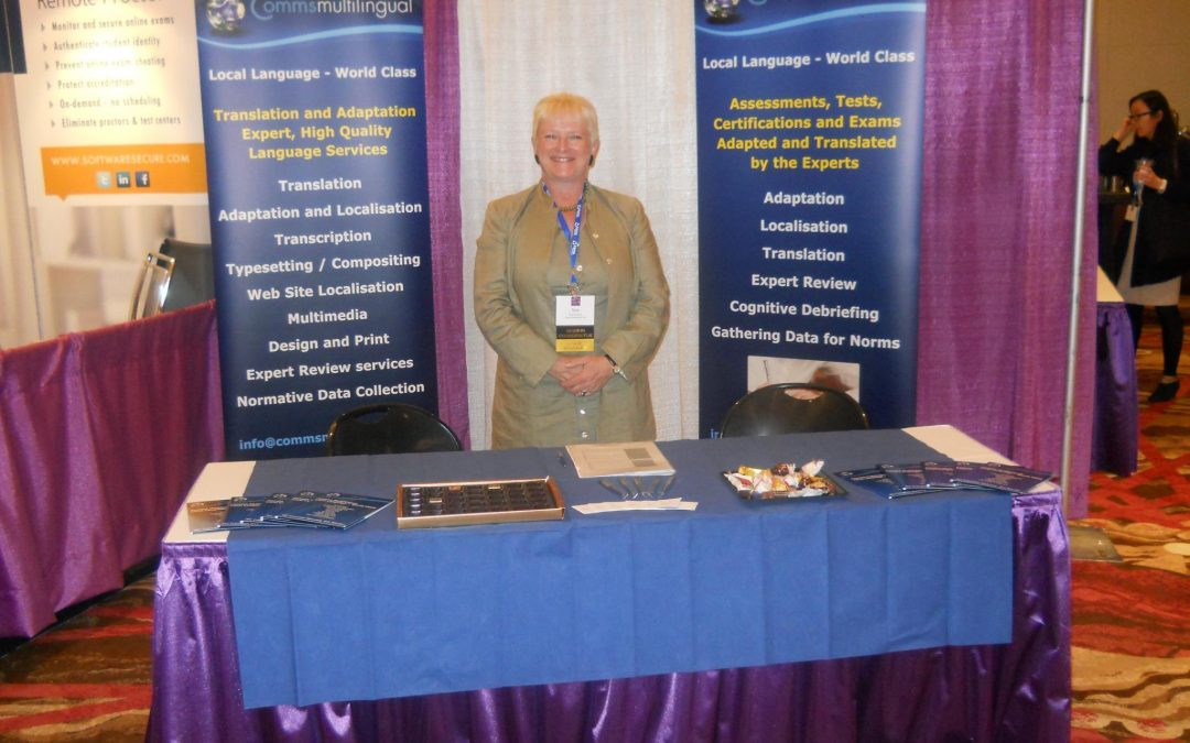 Sue Orchard at the ATP Conference in Scottsdale, Arizona