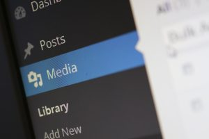 Wordpress Media Tab