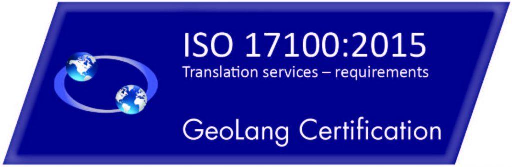 ISO 17100-2015 logo