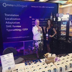 Comms Multilingual at ATP Conference 2018